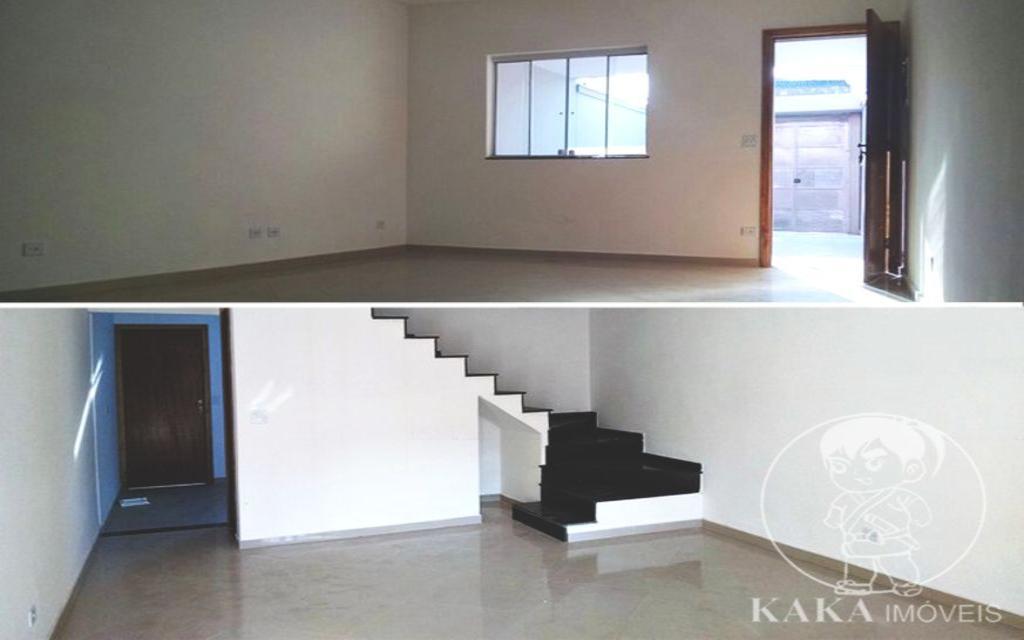 KAKA IMOVEIS SOBRADO Vila Santa Isabel 30678 Sobrado Novo, entregue com piso na área social e nos ambientes frios.    3 Suítes, 1 Sala, 3 Banheiros, Cozinha, Lavabo, Lavanderia, Sacada, Garagem com 2 Vagas.