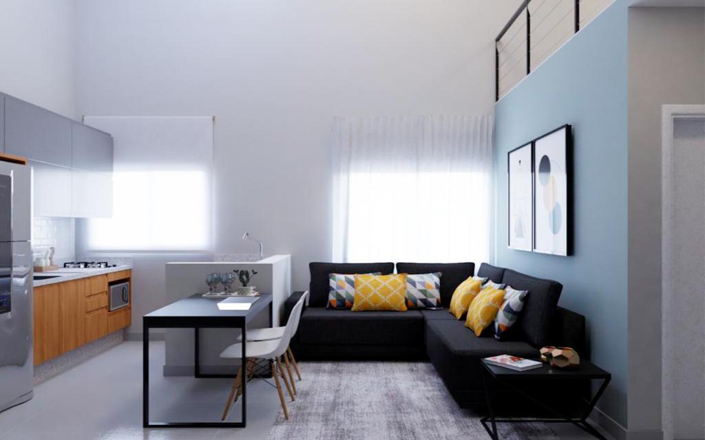 5de77162-20b9-490d-a1a7-97b86d32bd0a-KIKUDOME IMOVEIS APARTAMENTO Belem 45793 1 dormitório. sala. cozinha. banheiro. área de serviço.  A 600m do metrô Belém  Acabamentos de qualidade: mármore nas pias e piso porcelanato.  Tudo individualizado: água, luz.  * Imagens ilustrativas para você conseguir sonhar como ficará sua casa!
