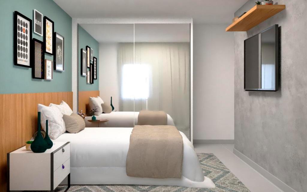 939758a5-4550-469f-87b2-0690332de4df-KIKUDOME IMOVEIS APARTAMENTO Belem 45789 1 dormitório. sala. cozinha. banheiro. área de serviço.  A 600m do metrô Belém  Acabamentos de qualidade: mármore nas pias e piso porcelanato.  Tudo individualizado: água, luz.  * Imagens ilustrativas para você conseguir sonhar como ficará sua casa!