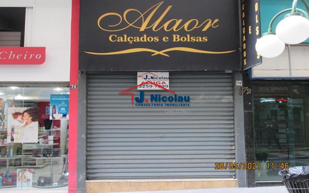 LOJA CENTRO 60 M² - GALERIA NOVA BARÃO