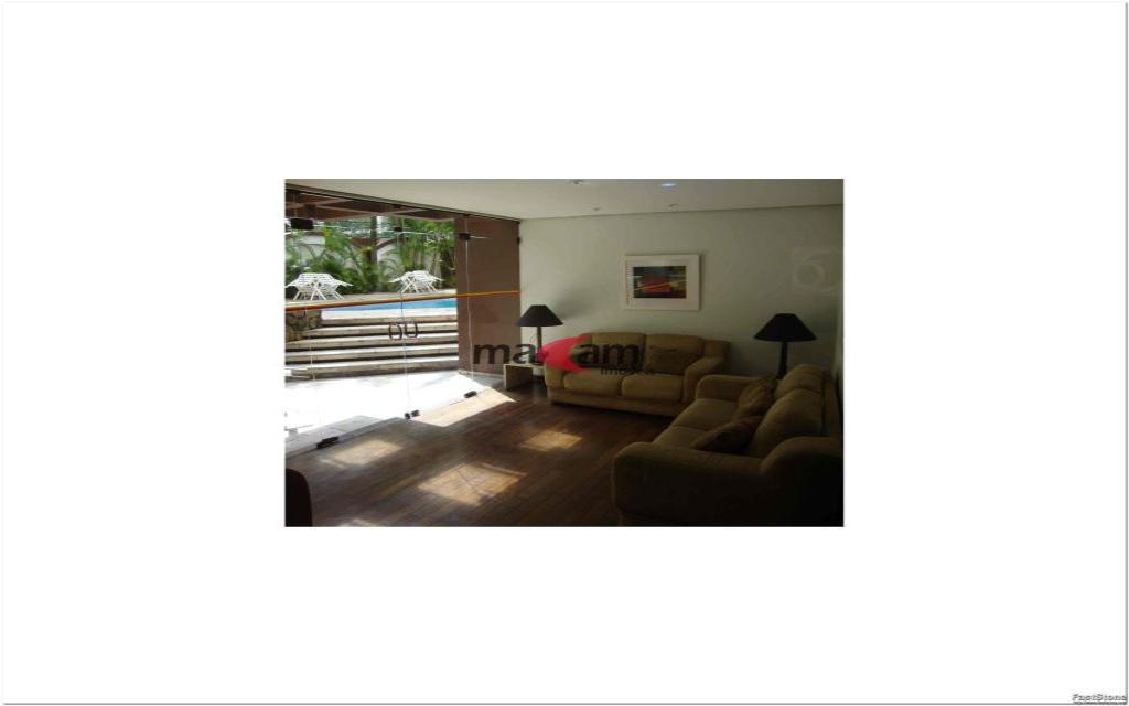 MACAM IMOVEIS Apartamento Moema Indios 15788 Excelente apartamento de alto padrão, em uma ótima localização, há 2 quadras do Shopping Ibirapuera, junto a  farmácias, restaurantes, serviços e comércios em geral.    Apartamento com  50m², com 1 dormitório, banheiro, hall, sala com 2 ambientes e cozinha, totalmente mobiliado em alto padrão, 1 vaga coberta na garagem,  lavanderia: Lava e Seca (Inclusa na Taxa de Condomínio), TV a Cabo com 70 Canais (NET), já inclusa na taxa de condomínio.   Edifício com sistema de segurança e lazer completo: piscina, sauna, sala de ginastica, sala de estar, salão de festas.  Valor total do pacote R$ 3.023,74