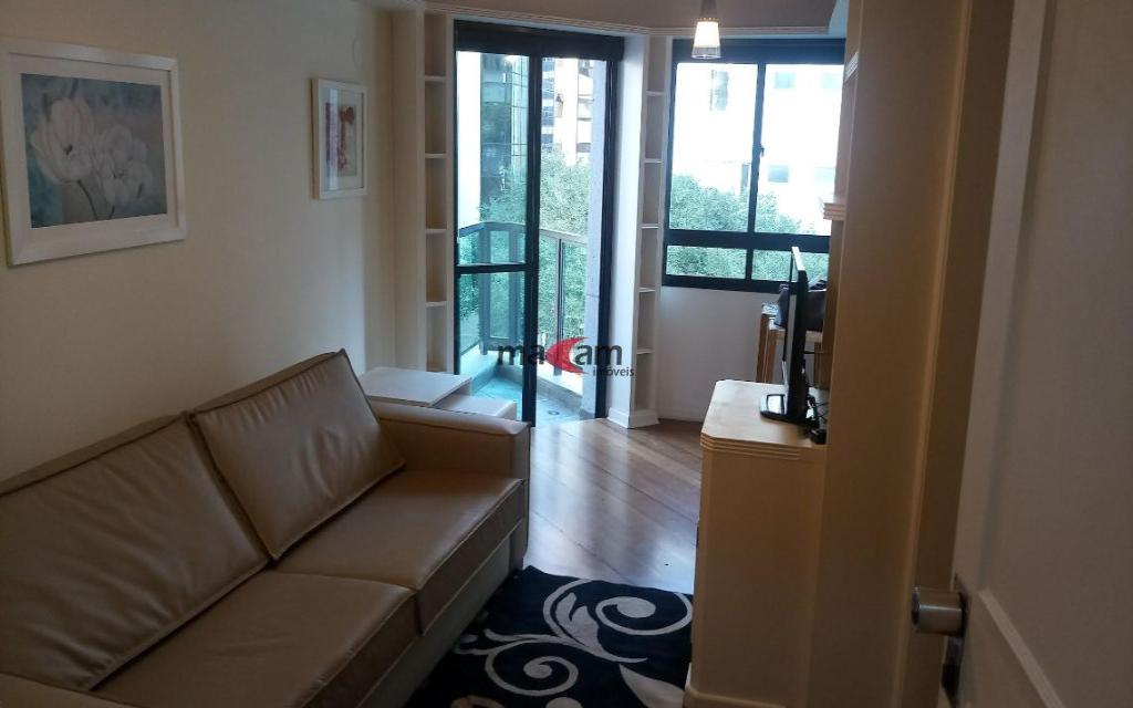 Apartamento Duplex para Locação no Itaim Bibi, 45m², com uma sala ampla!